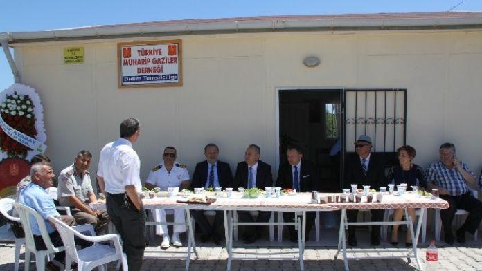 Didim'de Muharip Gaziler İlçe Protokolünü Ağırladı