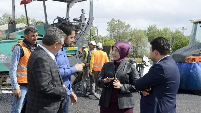 Başkan Toru, Karahüyük'deki Çalışmaları İnceledi