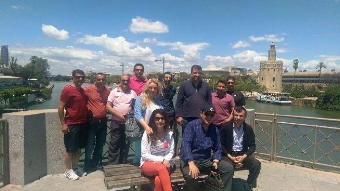 12 Öğretmen İspanya'ya Gitti