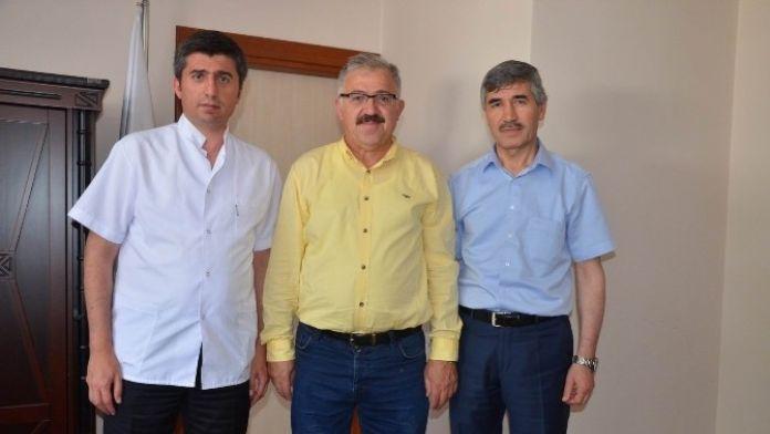 Hüseyin Rahmi Aksoy Vakfı'ndan Devlet Hastanesine Klima Yardımı