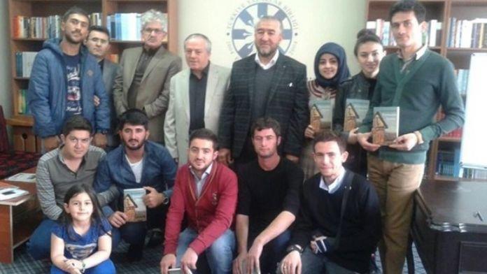 TYB Erzurum Şubesi'nin Konuğu Özbek Yazar Raufhan Oldu