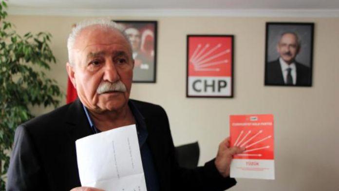 CHP Bolu İl Başkanlığı'nda imzalı olağanüstü kongre çağrısı