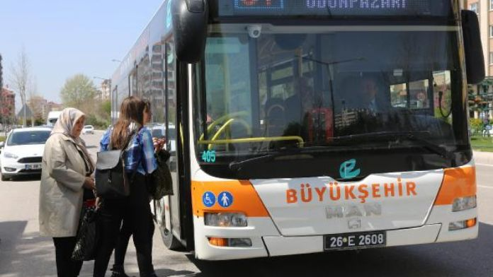Eskişehir'de kadınlar gece belediye otobüslerinden istediği yerde inebilecek