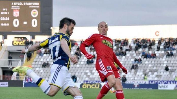 Medicana Sivasspor'un son şansı Fenerbahçe