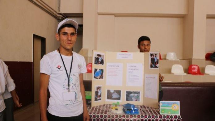 Ceylanpınar Anadolu İHL'den Bilim Fuarı