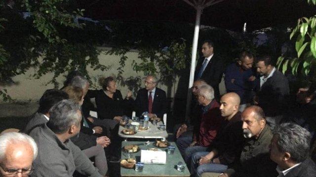 Kılıçdaroğlu Şehit Ailesinin Acısını Paylaştı