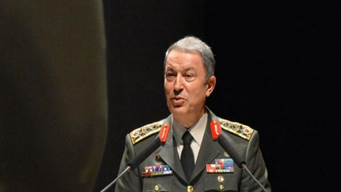 Genelkurmay Başkanı Belçika'ya gitti