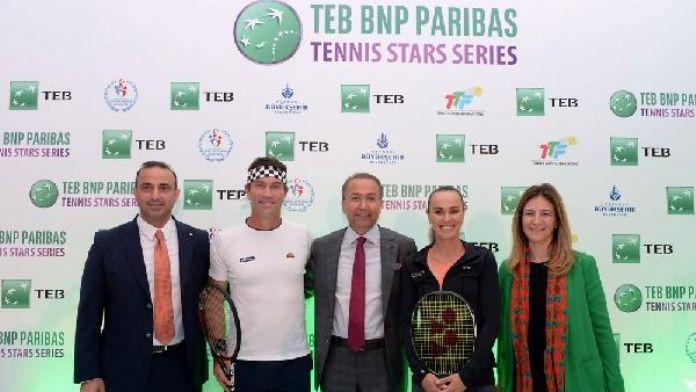 Tenisin efsane isimleri İstanbul'da buluşuyor