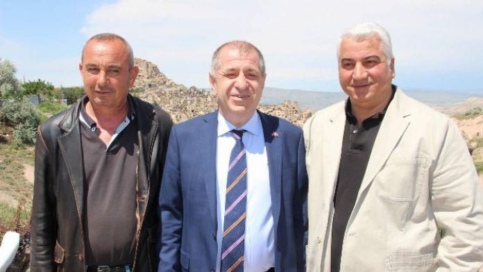 MHP Genel Başkan Adayı Özdağ Nevşehir'de
