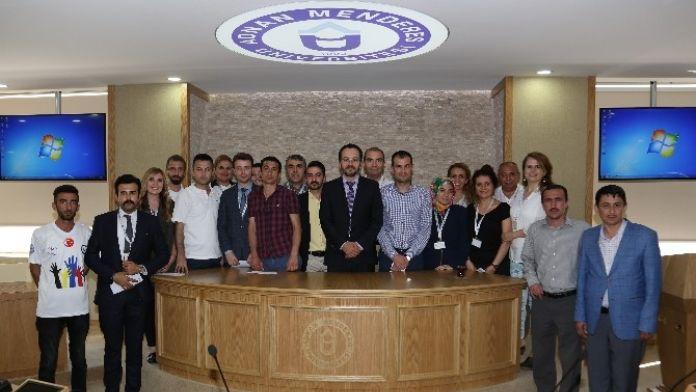 Rektör Bircan, Basın Ve Halkla İlişkiler Müdürlüğü Personeliyle Buluştu