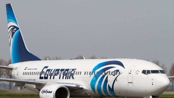 Mısır uçağı kayboldu