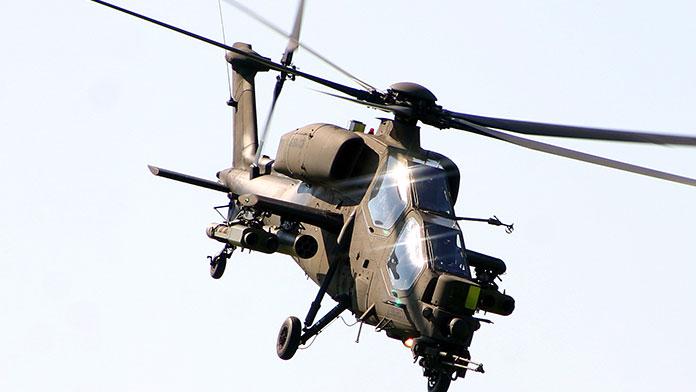 TSK: Helikopter füze ile düşürülmüş olabilir