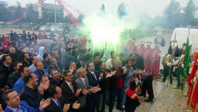 Erzincanlılar Binali Yıldırım'ın Genel Başkan Adaylığını Kutladı