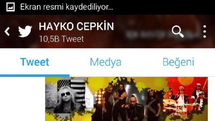 Hoyko Cepkin, ertelenen konseri için Twitter'dan sitem etti