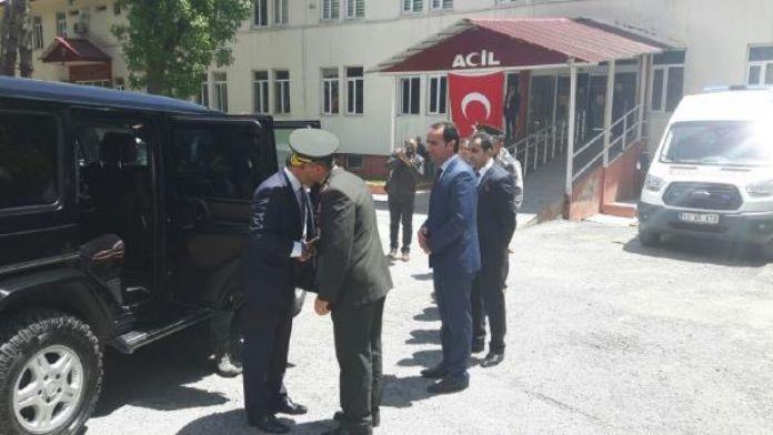 Bitlis Valisi Çınar, yaralı askerleri ziyaret etti