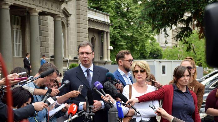 Sırbistan'daki hükümet kurma çalışmaları