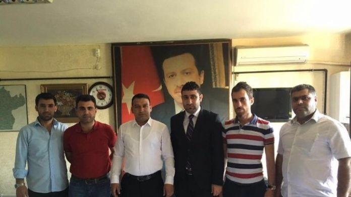 Diriliş Başkanlarından AK Partiye Ziyaret
