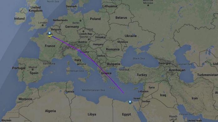 Mısır Uçağı Kayıplara Karıştı