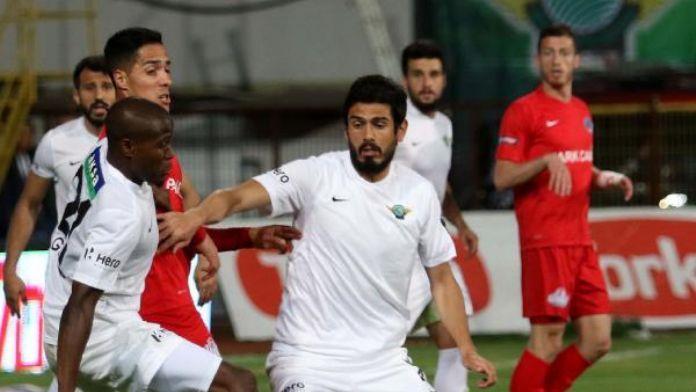 Akhisar Belediyespor hedefi son anda kaçırdı