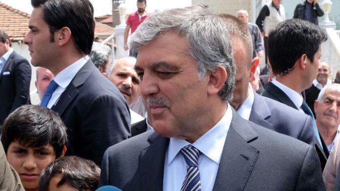 Abdullah Gül'den 'Binali Yıldırım' yorumu