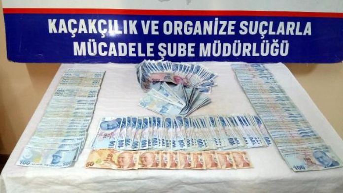 Diyarbakır'da bankaya kredi kartı borcunu sahte parayla öderken yakalandılar
