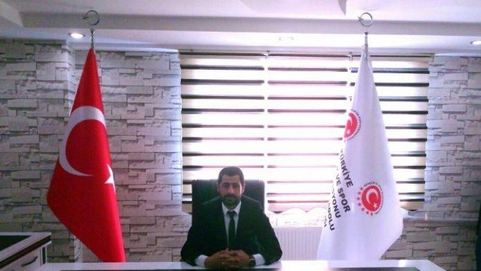 Gençlik Ve Spor Konfederasyonu Kayapınar İlçe Başkanlığı'na Hasan Koyuncu Getirildi