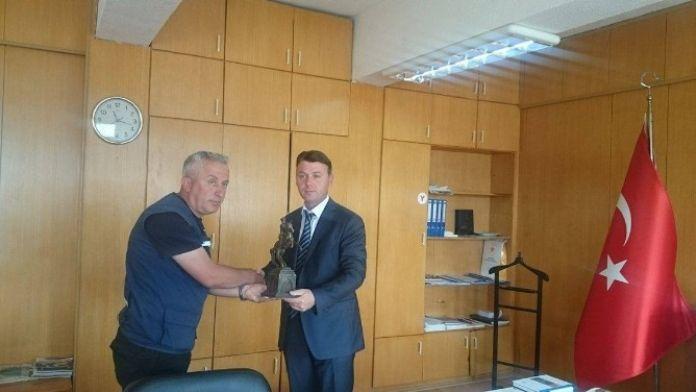 AFAD Eskişehir Müdürü Bayar'a Ödül