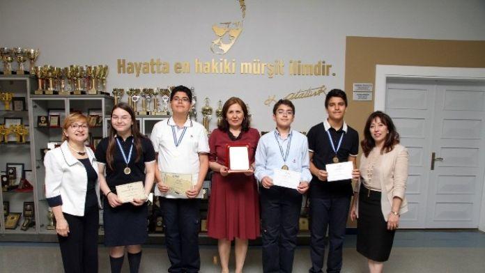 Özel Sanko Okulları, Uluslararası Amc-8 Matematik Yarışmasında Bölge Birincisi Oldu
