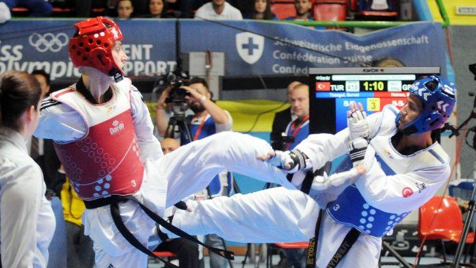 Servet Tazegül finalde