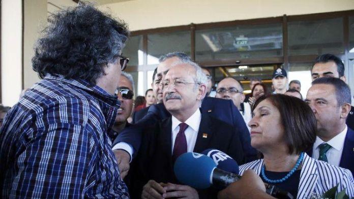 Kılıçdaroğlu'nu protesto eden heykeltıraş serbest bırakıldı