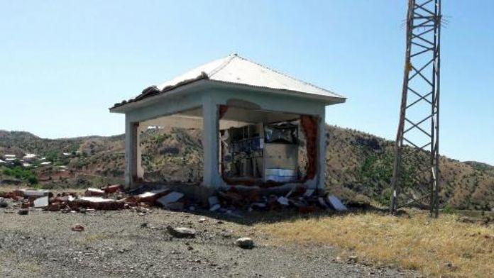PKK, Bingöl'de trafoya roketle saldırdı
