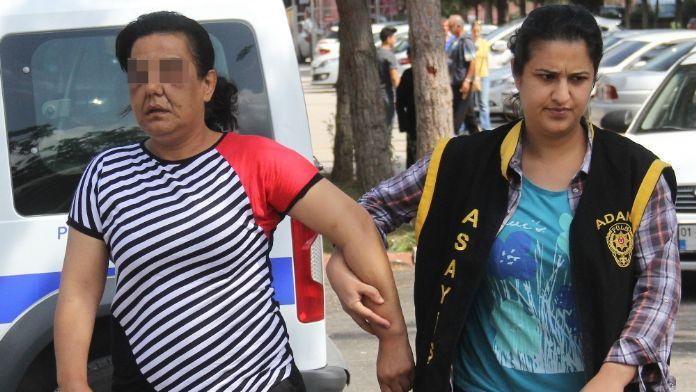 Fuhuştan yakalanan kadın polise beddua etti