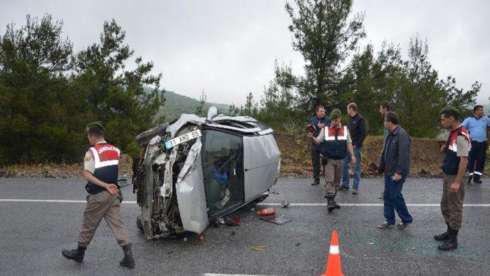 Sporcular kaza yaptı: 1 ölü, 4 yaralı
