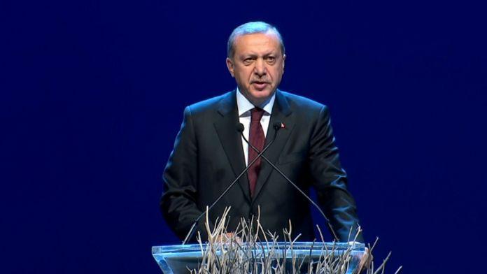 Erdoğan: Daha adil bir yük paylaşımı bekliyoruz