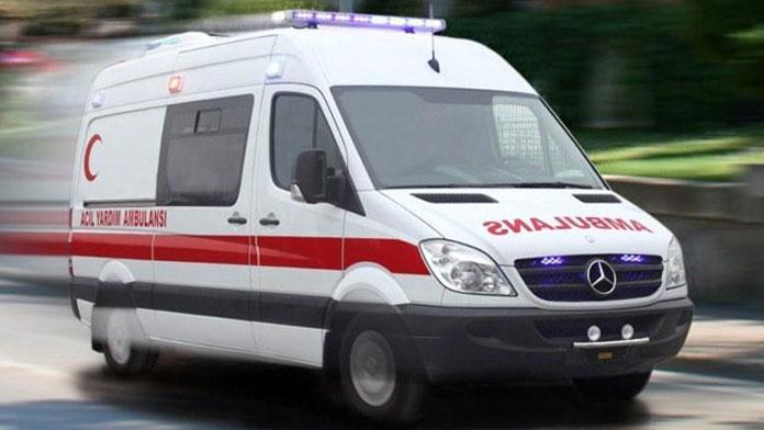 Samsun'da kaza: 2 polis hafif yaralı