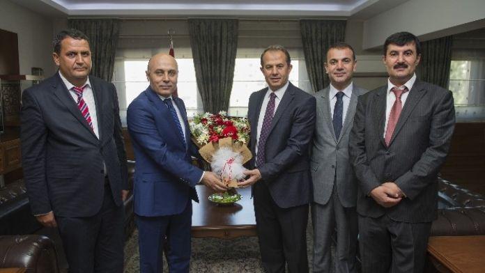 Bölge Müdürü Serdar'dan Vali Taşyapan'a Ziyaret