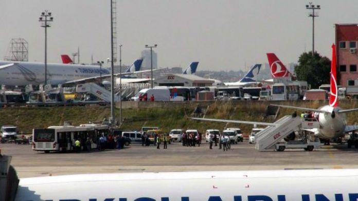 Fotoğraf // İstanbul-Kayseri uçağının tuvaletinde 'bomba' notu (1)