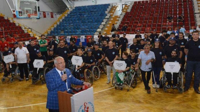 Engelli Basketbolcuların Play-off Müsabakaları Mersin'de Yapılıyor