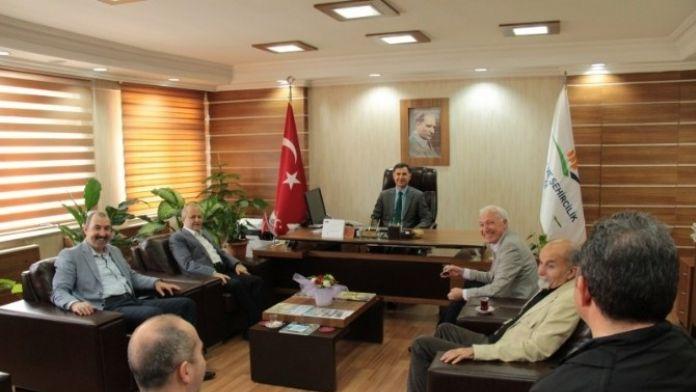 Şahkulubey'den Özcan'a Ziyaret