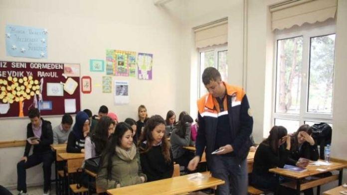 Bartın AFAD'dan Öğrencilere 'Doğal Afet' Eğitimi