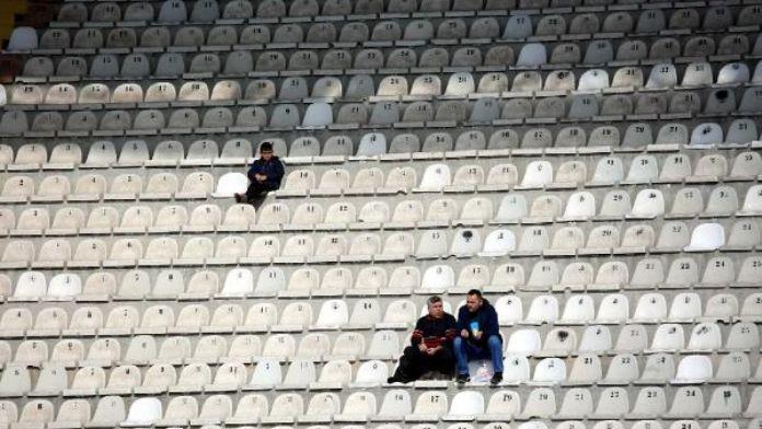 Medicana Sivasspor'da tribünler dolmadı