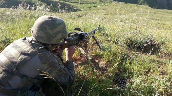 Erzincan'da çatışma: 3 terörist öldürüldü