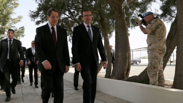 Anastasiadis Kıbrıs Özel Danışmanı'yla görüşmesini de iptal etti