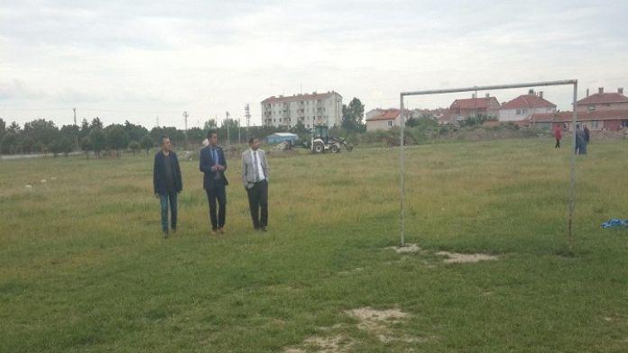 Ergene'ye Yeni Futbol Sahası Yapılıyor