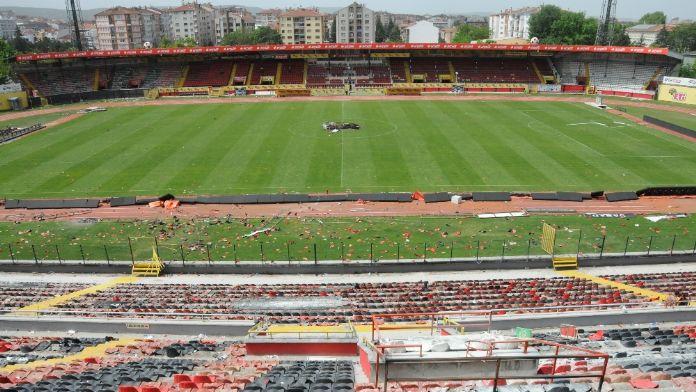 Eskişehirspor'a 4 maç ceza