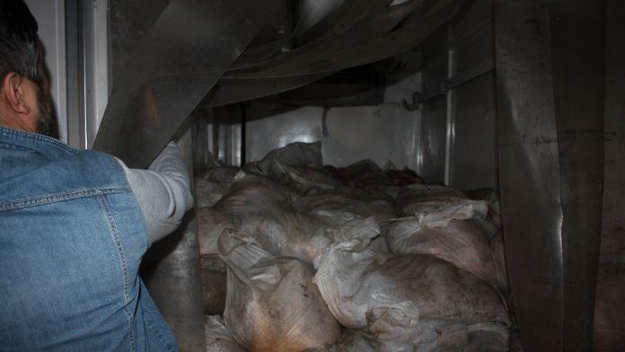 Sofralara gelmeden yakalandı: Tam 2 ton 700 kilogram !