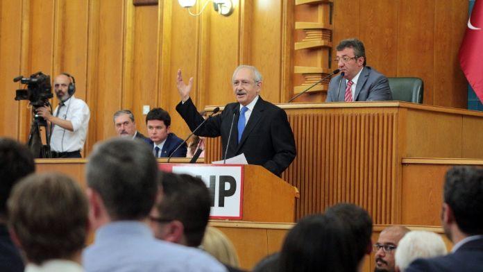 CHP Grup Toplantısındaki skandala dava !