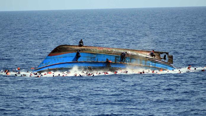 500 göçmen son anda kurtarıldı