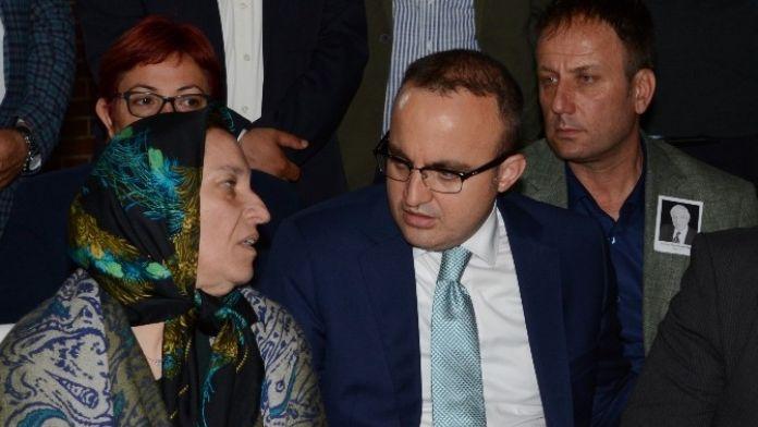 Turan'dan Bodur Ailesine Taziye Ziyareti