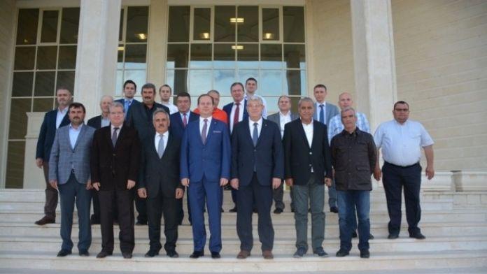 Trakya Bölgesi Ticaret Borsaları Edirne'de Toplandı